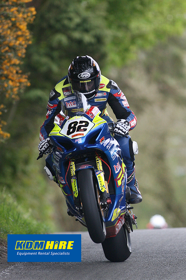 Sheils on Pole for to morrows KDM Hire Cookstown 100 Superbike Race